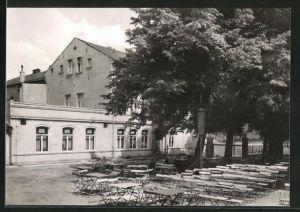 AK Güsten / Anh., HOG Klubhaus der Eisenbahner