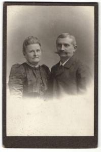 Fotografie Adolf Koestler, München, Portrait betagte Eheleute