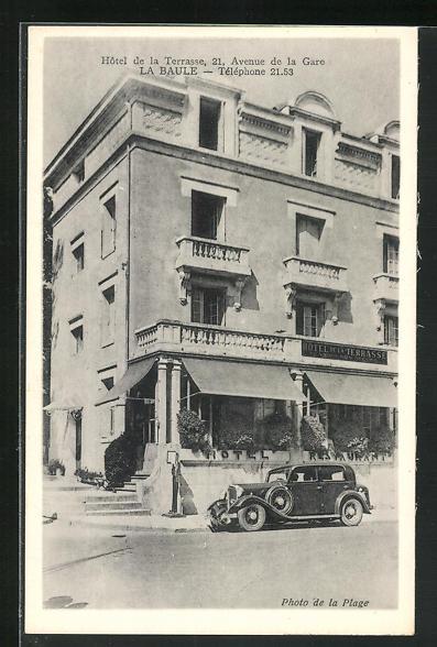 AK La Baule, Hotel de la Terrasse, 21 Avenue de la Gare