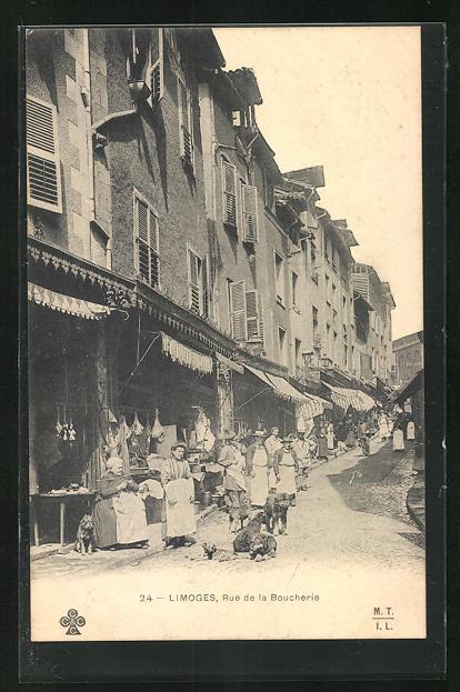 AK Limoges, Rue de la Boucherie