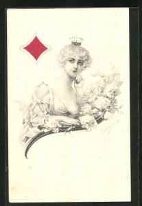 AK Karo-Dame, Kartenspiel