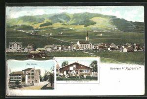 AK Gonten, Bad und Haus von Landamann Sutter