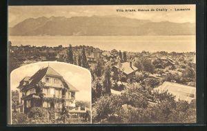 AK Lausanne, Villa Ariane, Avenue de Chailly
