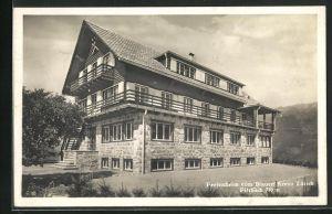 AK Filzbach, Ferienheim vom Blauen Kreuz Zürich