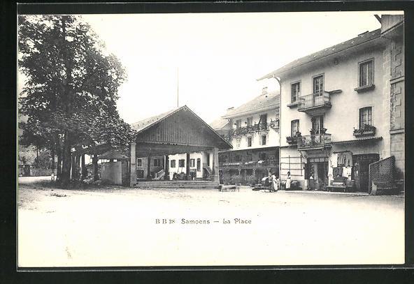 AK Samoens, La Place