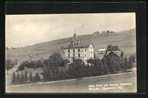 AK Weissbad / Appenzell J. Rh., Hotel u. Pension Belvedere