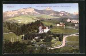 AK Weissbad, Hotel und Pension Belvedère