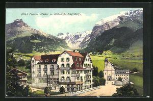 AK Engelberg, Hotel Pension Müller u. Hoheneck