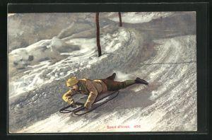 AK Sport d`hiver, Schlitten, Rodeln