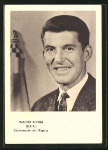 AK Walter Shirra, Cosmonaute de l`Espace