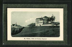 AK St. Anton, Hotel-Kurhaus Alpenhof