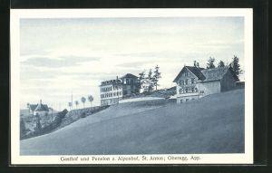AK St. Anton, Gasthof und Pension z. Alpenhof