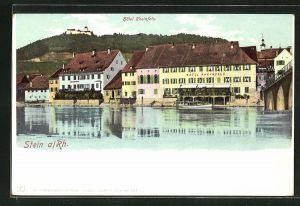 AK Stein, Hotel Rheinfels