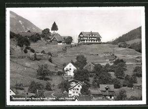 AK Filzbach, Ferienheim vom Blauen Kreuz Zürich Lihn