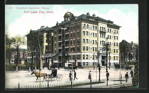 AK Salt Lake City, UT, Bransford Apartment House