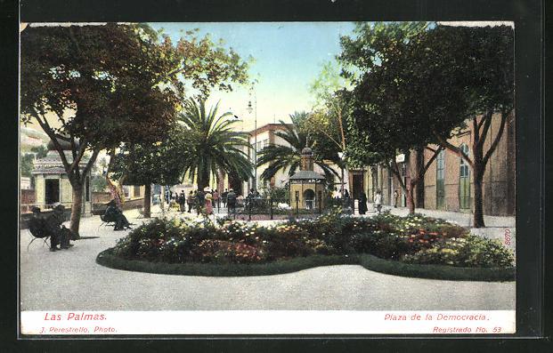 AK Las Palmas, Plaza de la Democracia