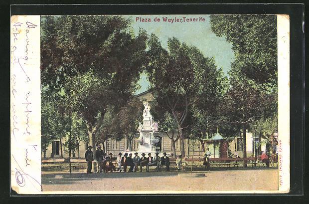 AK Tenerife, Plaza de Weyler