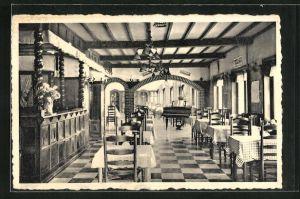AK Bouillon s. Semois, Panorama Hotel, Innenansicht, Vue des Salles