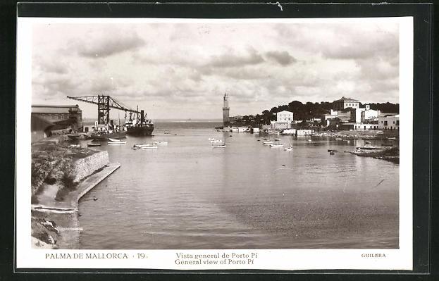 AK Palma de Mallorca, Porto Pi vista general de