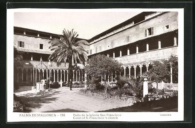 AK Palma de Mallorca, Court of S. Francisco`s church