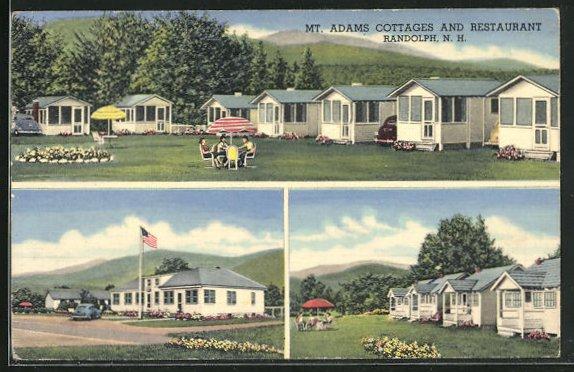 AK Randolph, NH, Mt. Adams Cottages an Restaurant, Mehrfachansicht