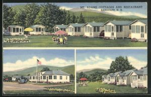 AK Randolph, NH, Mt. Adams Cottages an Restaurant, Mehrfachansicht