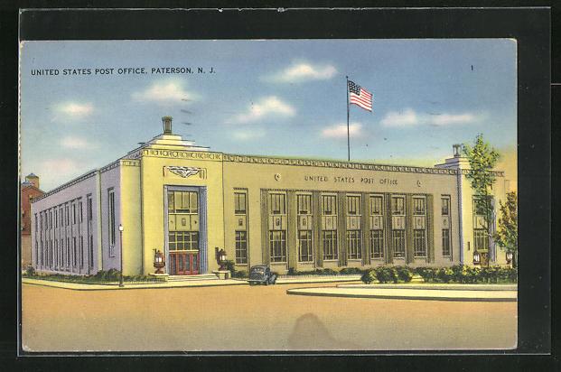 AK Paterson, NJ, United States Post Office