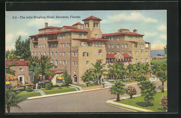 AK Sarasota, FL, The John Ringling Hotel
