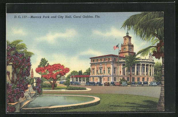 AK Coral Gables, FL, Merrick Park and City Hall