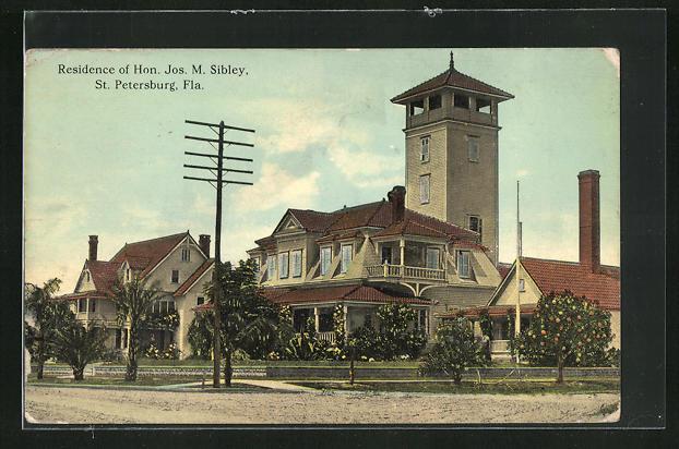 AK St. Petersburg, FL, Residence of Hon. Jos. M. Sibley