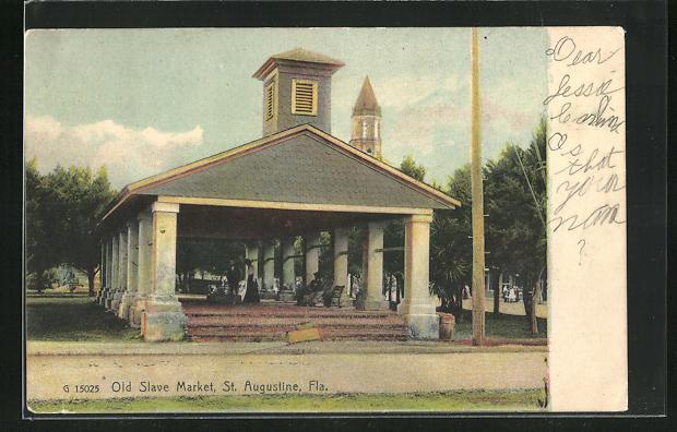 AK St. Augustine, FL, Old Slave Market