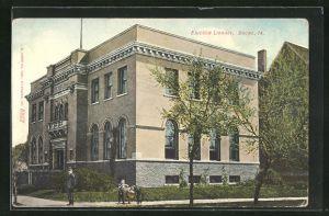 AK Boone, IA, Ericson Library