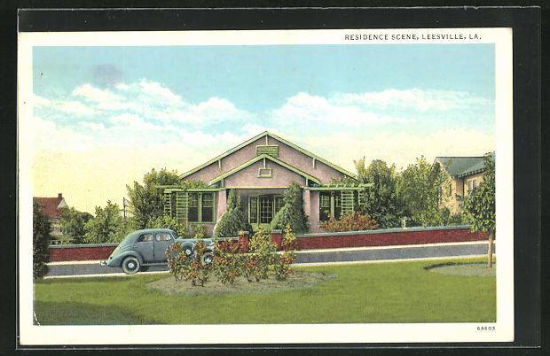 AK Leesville, LA, Residence Scene