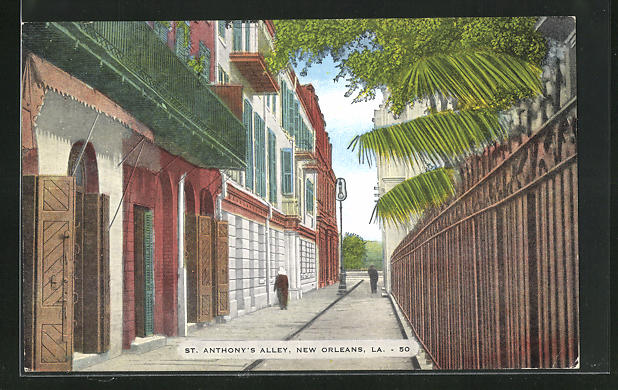 AK New Orleans, LA, St. Anthony`s Alley