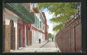 AK New Orleans, LA, St. Anthony`s Alley