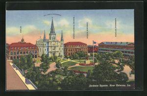 AK New Orleans, LA, Jackson Square