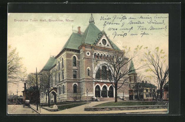 AK Brookline, MA, Town Hall