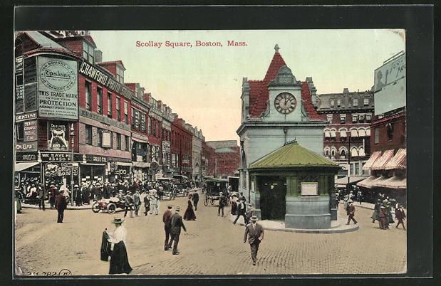 AK Boston, MA, Scollay Square