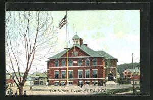 AK Livermore Falls, ME, High School