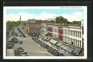AK Monroe, MI, Front Street