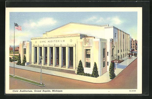AK Grand Rapids, MI, Civic Auditorium