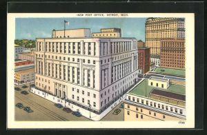 AK Detroit, MI, New Post Office