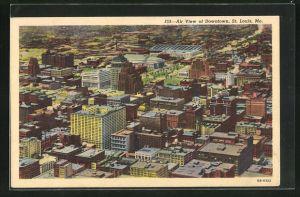 AK St. Louis, MO, Air View of Downtown