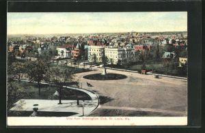 AK St. Louis, MO, View from Buckingham Club