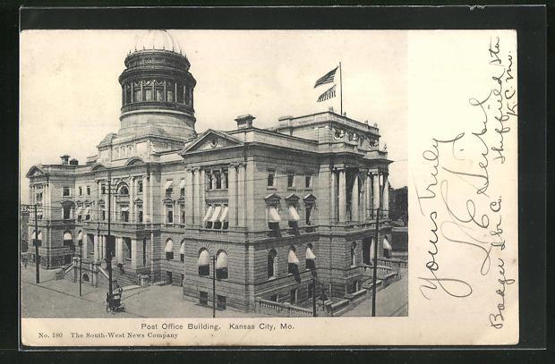 AK Kansas City, MO, Post Office Building