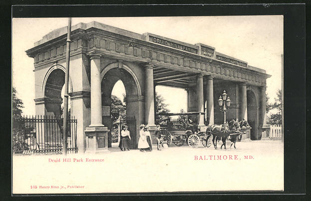 AK Baltimore, MD, Druit Hill Park Entrance