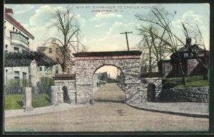 AK Hoboken, NJ, 8th St. Entrance to Castle Point