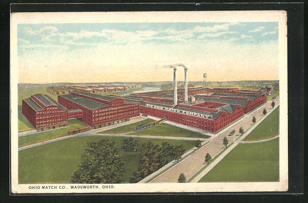 AK Wadsworth, OH, Ohio Match Co.