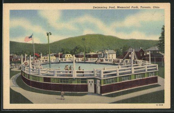 AK Toronto, OH, Swimming Pool, Memorial Park