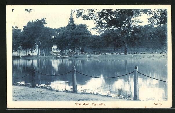 AK Mandalay, the Moat